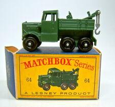 """Matchbox RW 64A Scammel Break-Down Truck olivgrün perfekt in """"D"""" Box"""
