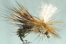 1 x Mouche Sèche Sedge Emergent Para H10/12/14/16/18 mosca paon fly emerger