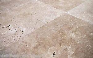 Antikstein Travertin Medium getrommelt 40,6 x 61 x 1,2 cm Marmor mediterran