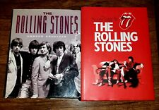 Rolling Stones Large Hardcover Book 2 Lot Unseen Archives Jagger Richards Jones