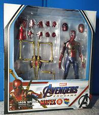 Medicom Mafex 121 Iron Spider Avengers Endgame Spiderman Superman Authentic