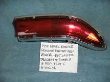 1958 EDSEL CITATION RANGER GENUINE DRIVER INNER TAILLIGHT FEY13504-C FREE SHIPPI
