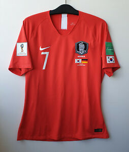 18 Korea Home S/S No.7 SON Hueng-Min Player Issue 2018 WorldCup Germany