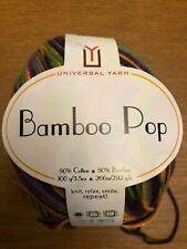 Bamboo Pop yarn, 1 skein, color Grape Garden