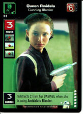 STAR WARS YOUNG JEDI REFLECTIONS ULTRA RARE QUEEN AMIDALA, CUNNING WARRIOR