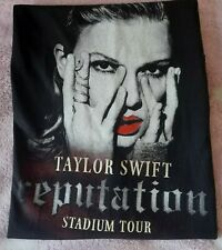 Taylor Swift Reputation Tour Tshirt Rare Uk Dates Size Large
