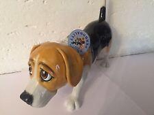 Beagle Porzellan Figur, Arora Design (Original), Bugles,
