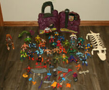 Vintage He-Man MOTU figure lot:  33 figures, Snake Mountain lot