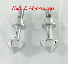 99-01-02-07-08-17 Hayabusa Chrome Smooth Bullet Spike Cargo Net Tie Down Bolts!!