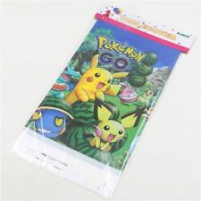 Pokemon Kids Table Cover Cloth Tableware Party Supplies plastic 108CM X180CM