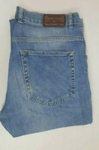 Gant Mens Regular Fit Denim Blue Jeans Sz W34 L34