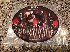 Kiss Smashes Thrashes And Hits Picture Disc! Very Nice Print! Motley Crue Poison
