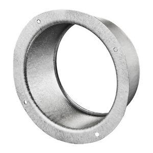 Flansch Metallflansch Wandabschluss Bundkragen Lüftungsrohr Abluftrohr Luftkanal