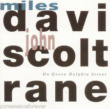 MILES DAVIS & JOHN COLTRANE - On Green Dolphin Street (Italian 5 Tk CD Album)