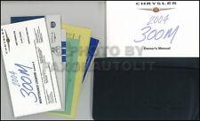 2004 Chrysler 300M Owners Manual Package NEW Original 300 M OEM Owner Guide Book