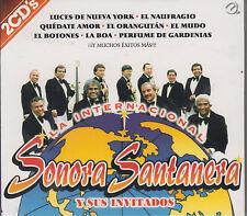 CD - La Internacional Sonora Santanera Y Sus Invitados NEW 2 CD's FAST SHIPPING!