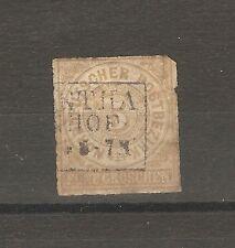 Norddeutscher Postbezirk Briefmarken 1868 5 Groschen Mi. 6 gestempelt