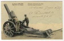 AK Guerre 1914-15, Obusier allemand de siege, 1 WK Dt. Haubitze