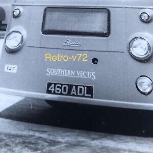SOUTHERN VECTIS PHOTO BRISTOL SUL4A  BUS NO 847 REGISTRATION 460 ADL