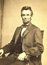 "Abraham Lincoln Historic Photo US Presidential Portrait -17""x22"" Art Print-00209"