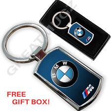 Bmw voiture porte-clés key chain ring fob métal chromé design unique,,