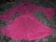 Betsey Johnson Pink Bathrobe Small