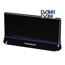 Thomson antenna interni attiva TV Radio 43dB HDTV 3D LTE DVB-T/T2 ANT1403 filtro