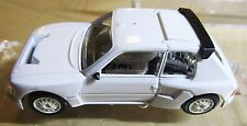 VOITURES 300 ~1:43 PEUGEOT 205 TURBO ~ WHITE WITH STICKERS ~ ORIGINAL BOX