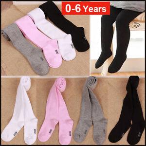1/4Pair Kids Toddler Baby Girls Warm Cotton Tights Stockings Pantyhose Pant Sock