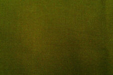 D111 PURE COTTON OLIVE GREEN  FINE SOFT TOUCH FINE CAVALRY TWILL MADE IN ITALY