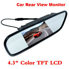 "Car Reverse Rear View Camera Kit Night Vision Backup Camera + 4.3"" LCD Monitor *"