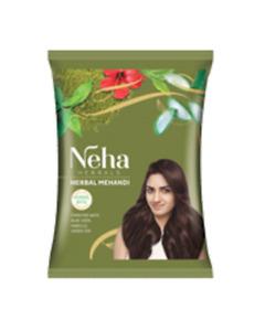 Neha Henna Mehndi Powder 13 Herbs Blend Hair Dye Color, 500 gm