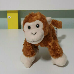 Gund Telus Monkey Plush  18CM long With Magnets in Hands and Feet STUFFED ANIMAL