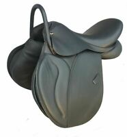 17.5 inches/NEW ENGLISH All Purpose horse saddle