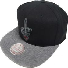 Mitchell & Ness NBA Cleveland Cavaliers Eu955 Wool Visor Snapback Cap Men's