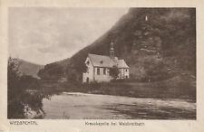 Ansichtskarte Wiedbachtal. Kreuzkapelle bei Waldbreitbach. Gelaufen 1926