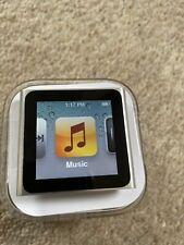 Apple iPod Nano 16GB 6th Gen Generation Silver MP3 - Immaculate