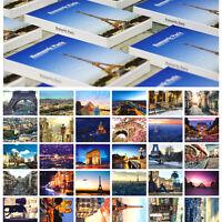 LOTS 30PCS Paris City View Postcards Places of Interest Eiffel for Postcrossing