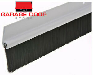 GARAGE DOOR BRUSH WEATHER SEAL - ONE CAR GARAGE DOOR