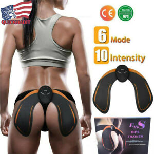 EMS Hip Trainer Hips Muscle Exercise Machine Home Fitness Workout Equipment
