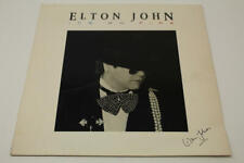 ELTON JOHN SIGNED AUTOGRAPH ALBUM VINYL RECORD - ICE ON FIRE, THE LION KING REAL