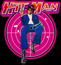 70's Classic Blaxploitation Hit Man Poster Art custom tee Any Size Any Color