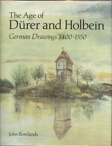 The Age of Durer and Holbein, German Drawings 1400 -1550 British Museum  Book