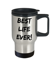Best Life Ever! Stainless Steel Travel Mug JW Pioneer School Gift Witness To Go