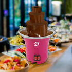 ELECTRIC CHOCOLATE FOUNTAIN 3 TIER STAINLESS STEEL FONDUE PARTIES WARMER DIPPING