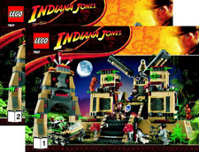 NEW INSTRUCTIONS ONLY LEGO TEMPLE OF CRYSTAL SKULLS 7627 books manuals from set