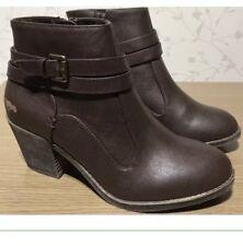 Brand New Genuine Marron Taille 7 ROCKETDOG Bottes Bottines Femmes Chaussures TRF