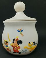 Vintage Walt Disney Cookie Jar w/ Mickey Mouse, Goofy, Donald Duck, and More!