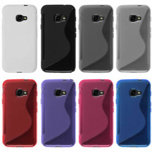 For Samsung Galaxy Xcover 4s Case Soft TPU Protector Shell Anti-slip Phone Cover