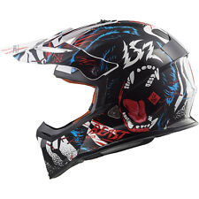 LS2 MX437 Fast Beast Motocross Helmet Off Road Enduro Adventure MX GhostBikes